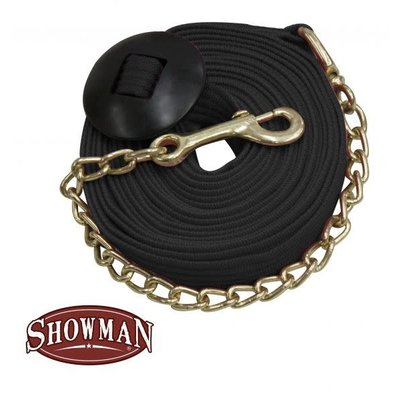 Showman Lunge Line with Chain