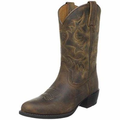 Ariat Youth Heritage Western Distressed Brown