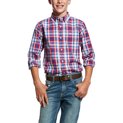 Ariat Boy's Oakden Performance Shirt