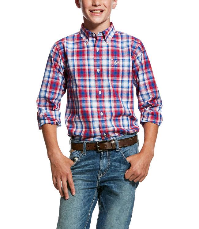 Ariat Boy's Oakden Performance Shirt