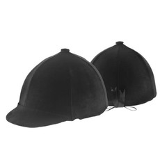 Zocks Black Velvet Helmet Cover