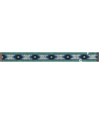 Beaded Hat Band BS12 BK