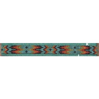 """Wide Beaded Hat Band 3/4"""""""
