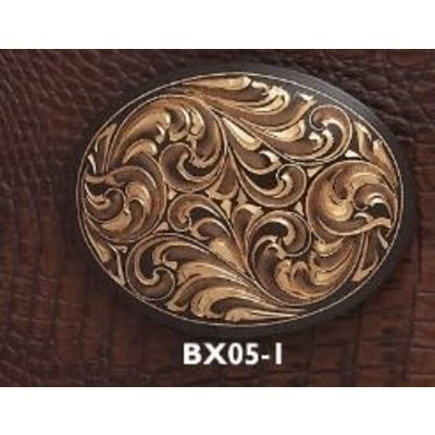 Austin Buckle Engraved Oval BX05-1