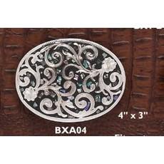 Austin Buckle Abalone Oval BXA04