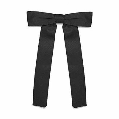 """Colonel Tie 9"""" Adjustable Black"""
