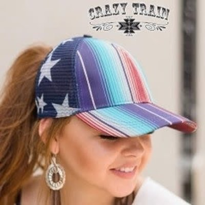 Crazy Train Clothing US Hair Force Cap