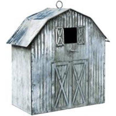 Corrugated Metal Barn Birdhouse