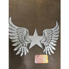 Corrugated Wings Wall Art