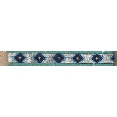 Wide Beaded Stretch Hat Band