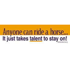 Horse Hollow Bumper Stickers