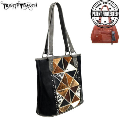 Montana West Trinity Ranch Conceal & Carry Hair-On Tote