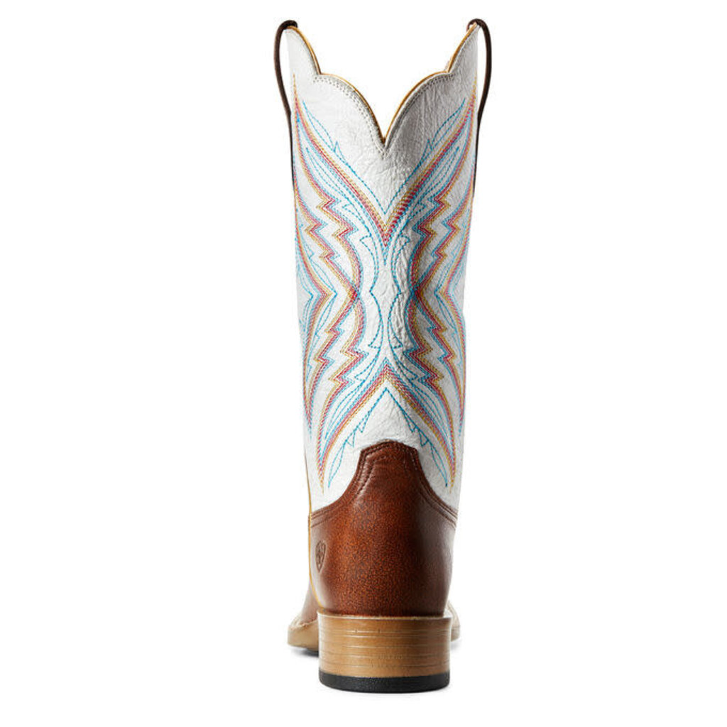 Ariat Pinnacle Western Boot Amber Brown/Parchment