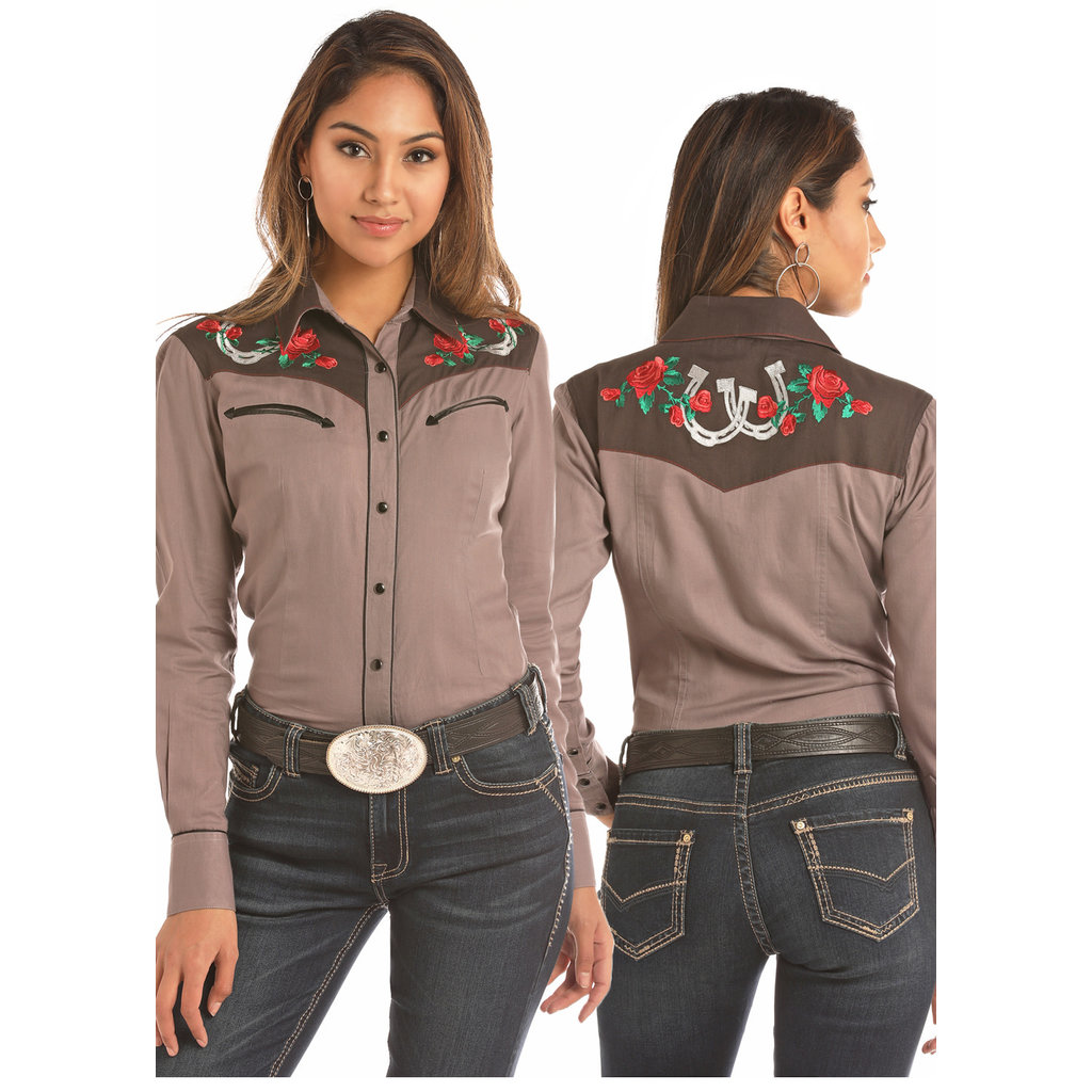 Panhandle Slim Ladies Western Shirt B4S1174