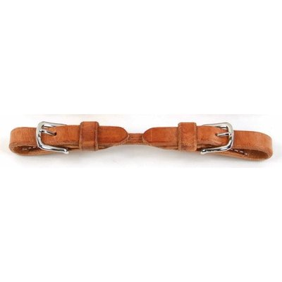 Professional's Choice Rounded Leather Curb Strap