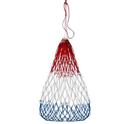 Slow Feed Hay Net Red/White/Blue