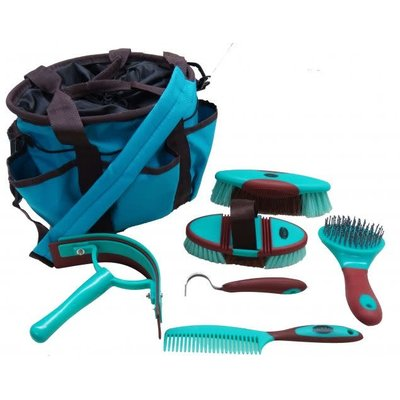 Showman Soft Grip Grooming Kit