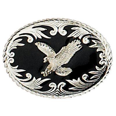 Silver Eagle Belt Buckle RE-9