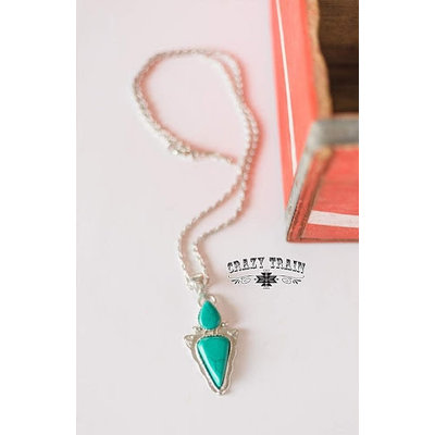 Crazy Train Clothing Straight and Arrow Necklace