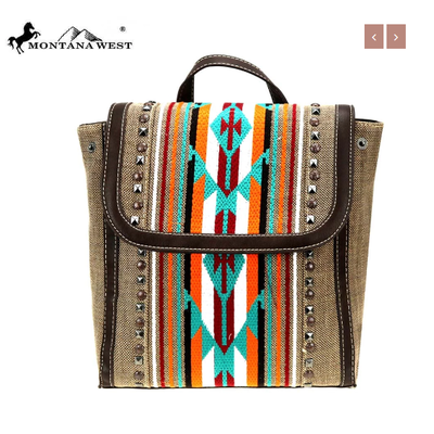 Montana West Montana West Aztec Backpack Coffee