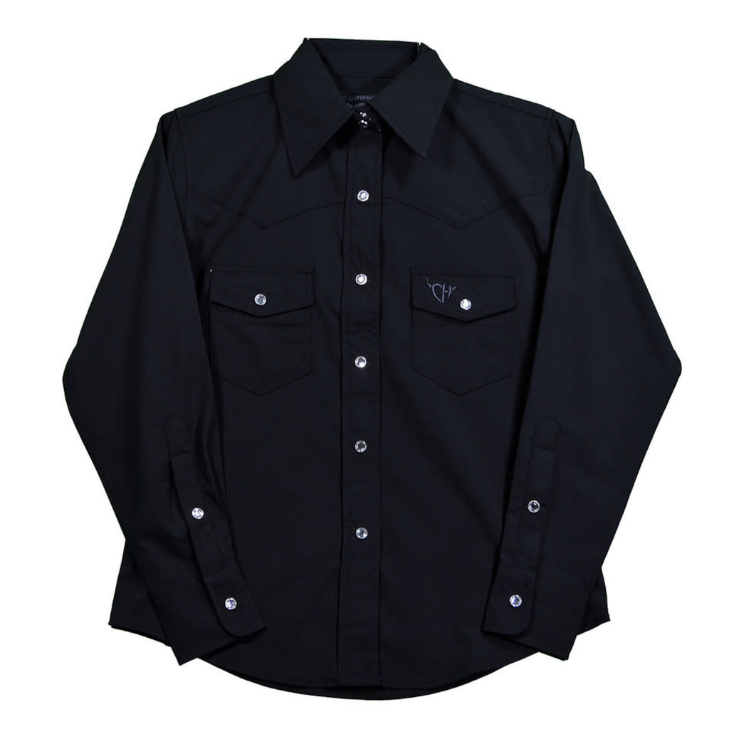 Cowboy Hardware Youth Bamboo Solid Color Shirt