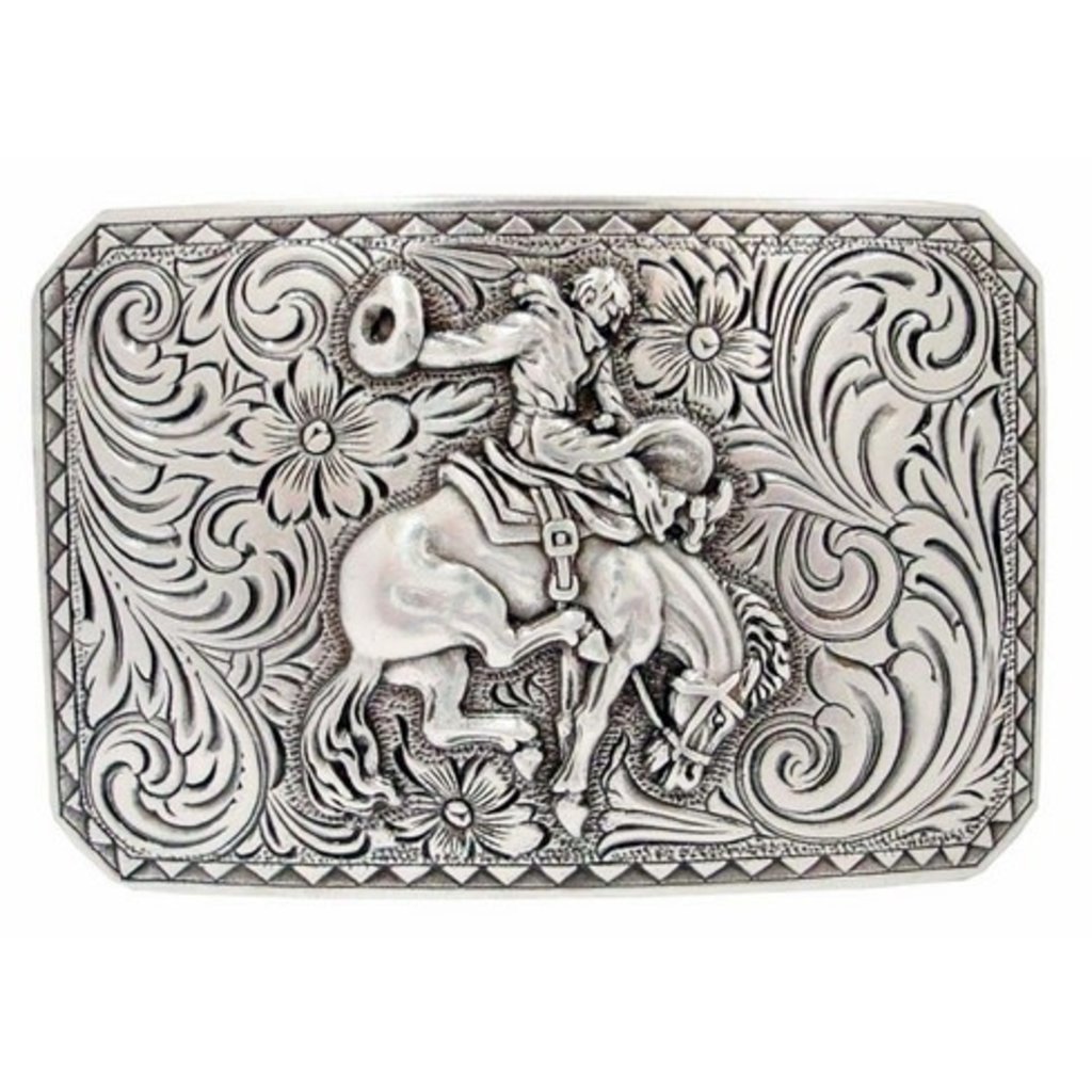 Bronco Rider Cowboy Belt Buckle