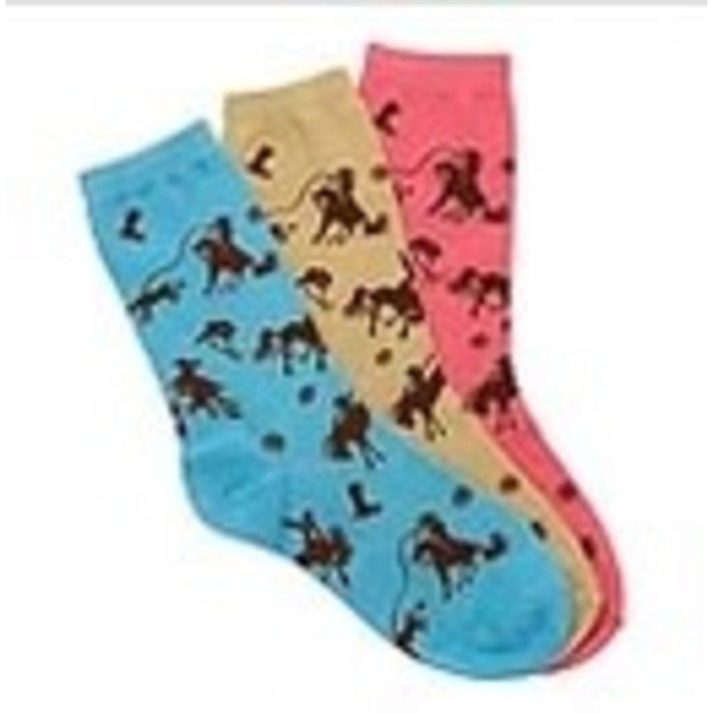 Rodeo Time Crew Socks