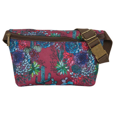 Catchfly Vinita Bum Bag Cactus Print