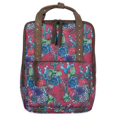 Catchfly Vinita Backpack Cactus Pattern