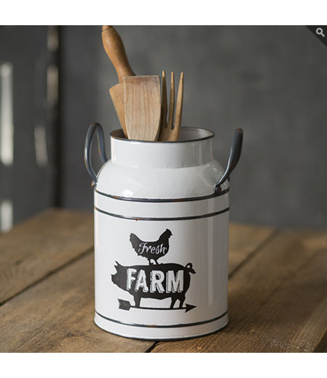 CTW Home Collection Fresh Farm Milk Can
