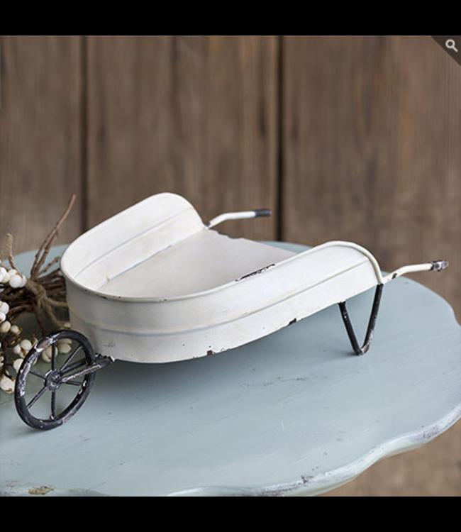CTW Home Collection Decorative Tabletop Wheelbarrow