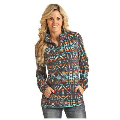 Rock & Roll Quilted Fleece Jacket