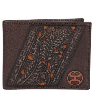 Hooey Rustic Mahogany Bifold Wallet