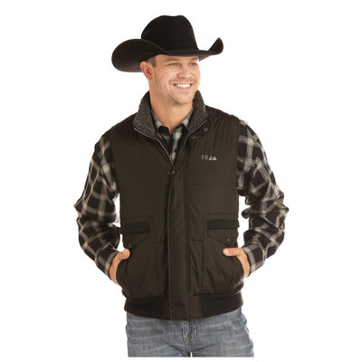 Powder River Men's Conceal & Carry Quilted Vest