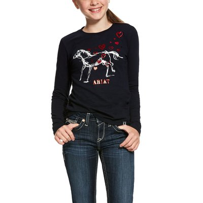Ariat Girls Pony Love T-Shirt