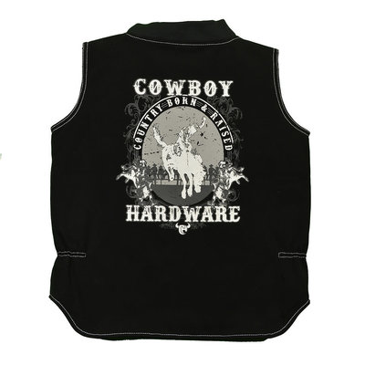 Cowboy Hardware Youth Country Born & Raised Vest