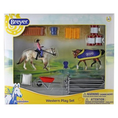 Breyer Breyer Western Play Set