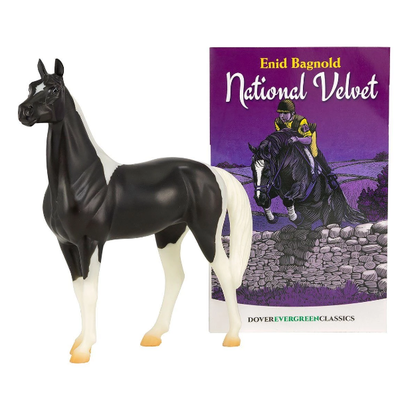 Breyer National Velvet Horse & Book Set