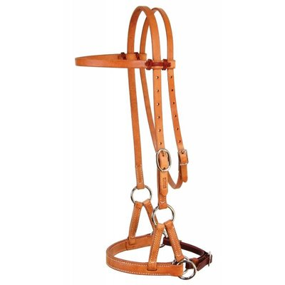 Professional's Choice D&S Leather Nose Side Pull