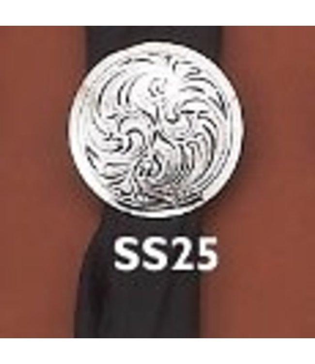 Austin Engraved Scarf Slide