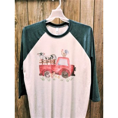 Beyond the Barn Farm Animal Truck Tee