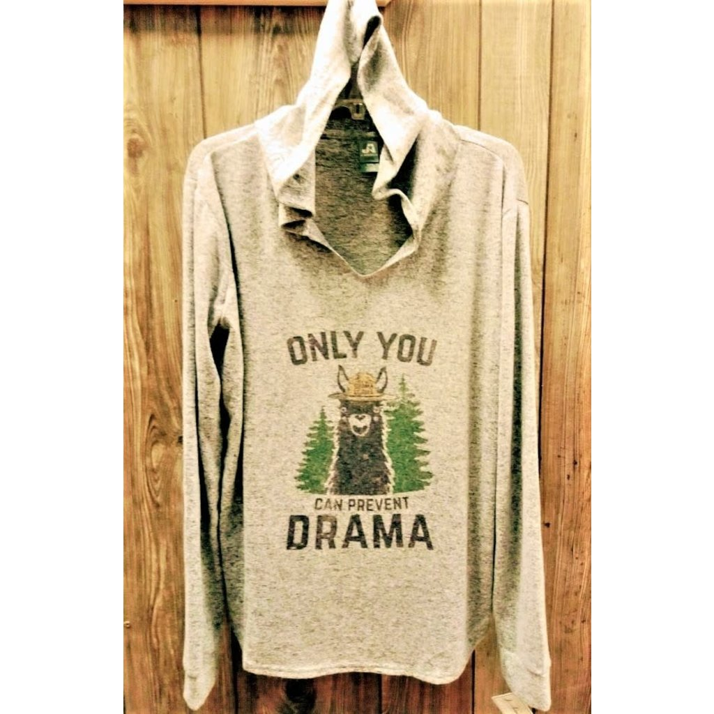 Beyond the Barn Only You Can Prevent Drama Hooded Shirt