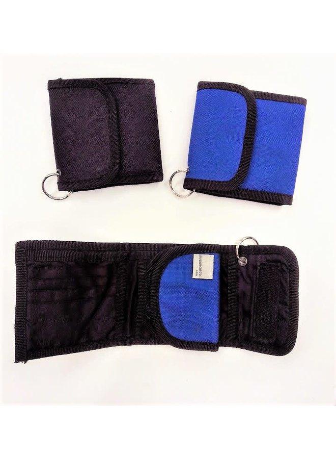 Nylon Trifold Wallet w/ Keyring