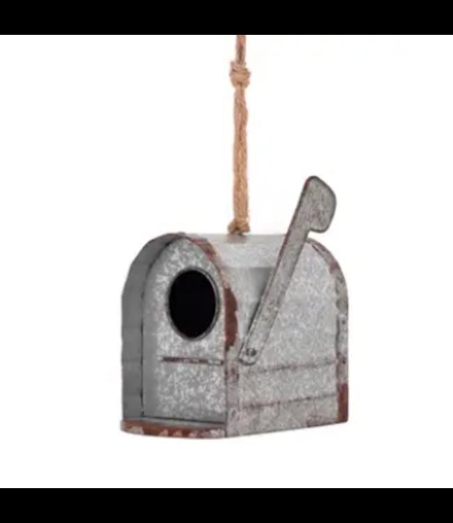 Galvanized Mailbox Birdhouse