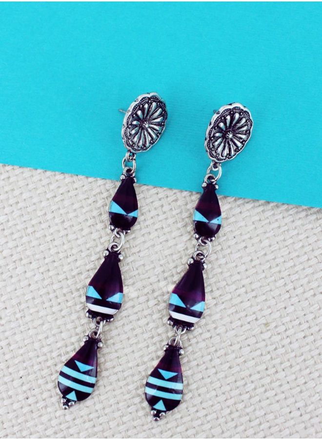 Sierra Silverstone Teardrop Earrings