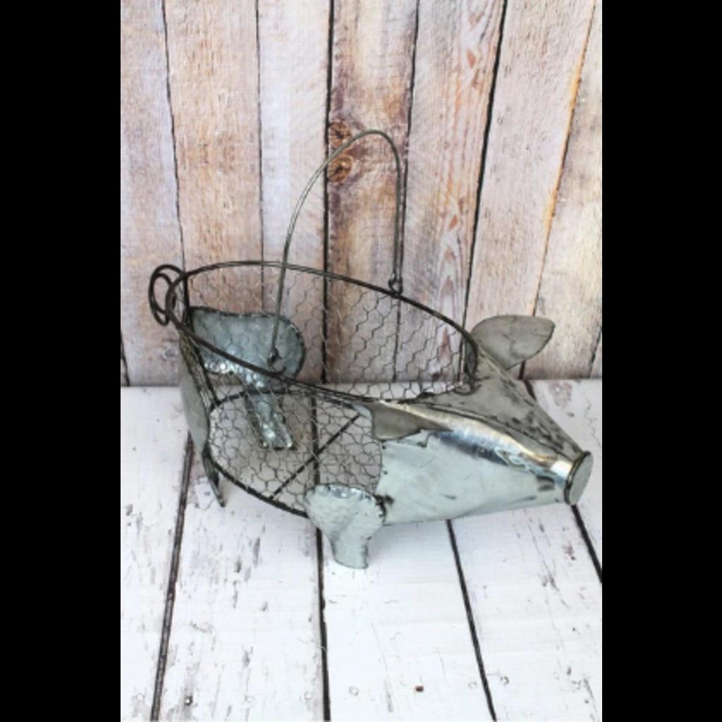 8x18 Metal Wire Pig Basket