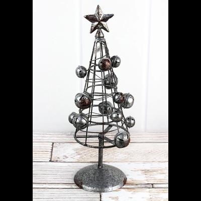 Metal Jingle Bell Christmas Tree