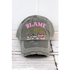 Blame It All On My Roots Cap