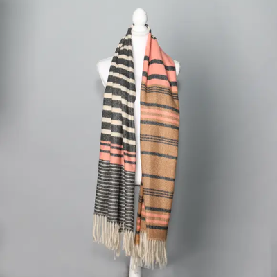 Stripe Collection Scarf