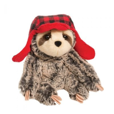 Douglas Blitzen Plush Sloth w/Hat